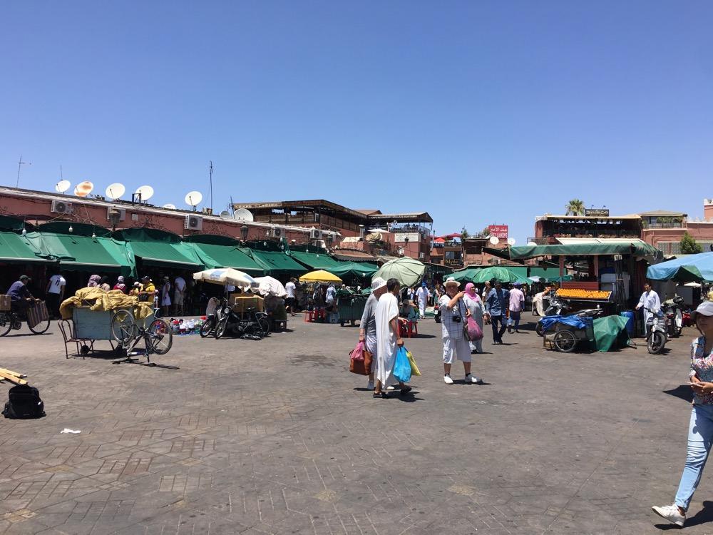 plac Dżami al-Fana w Marrakeszu