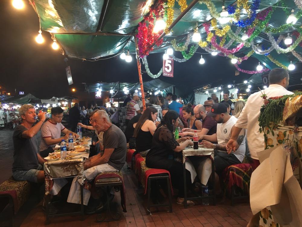 Marrakesz nocą