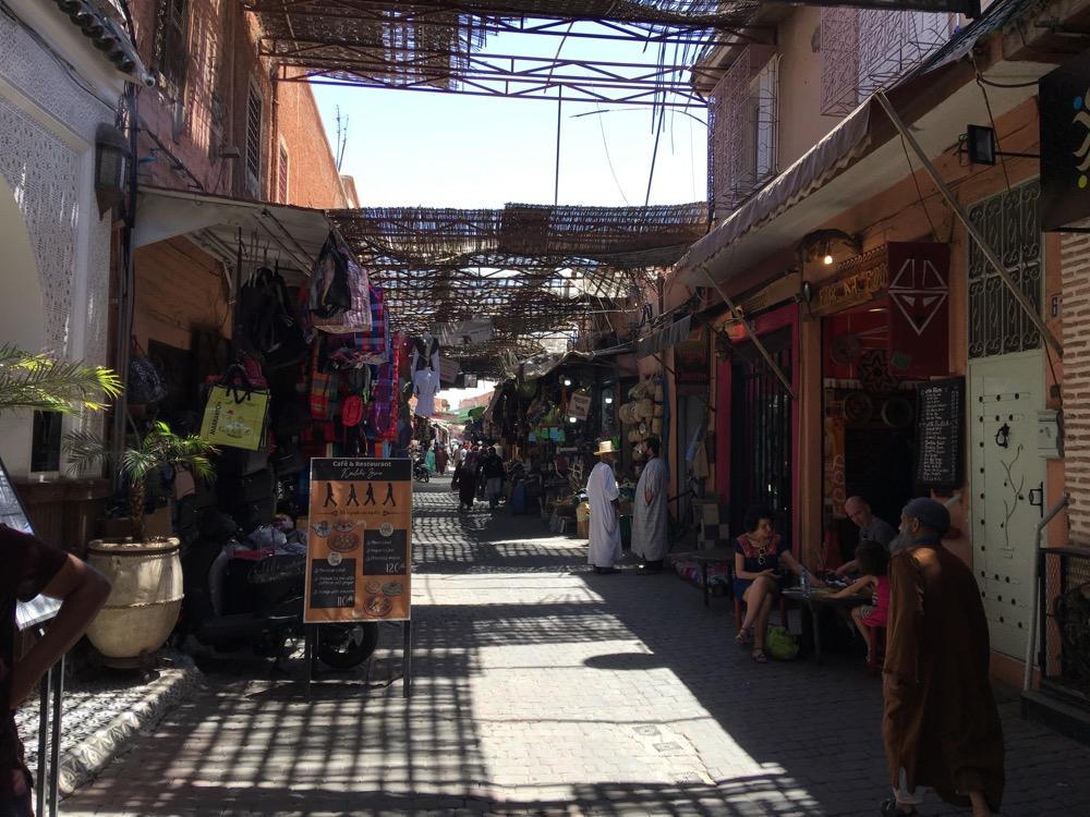 Zakupy w marrakeszu