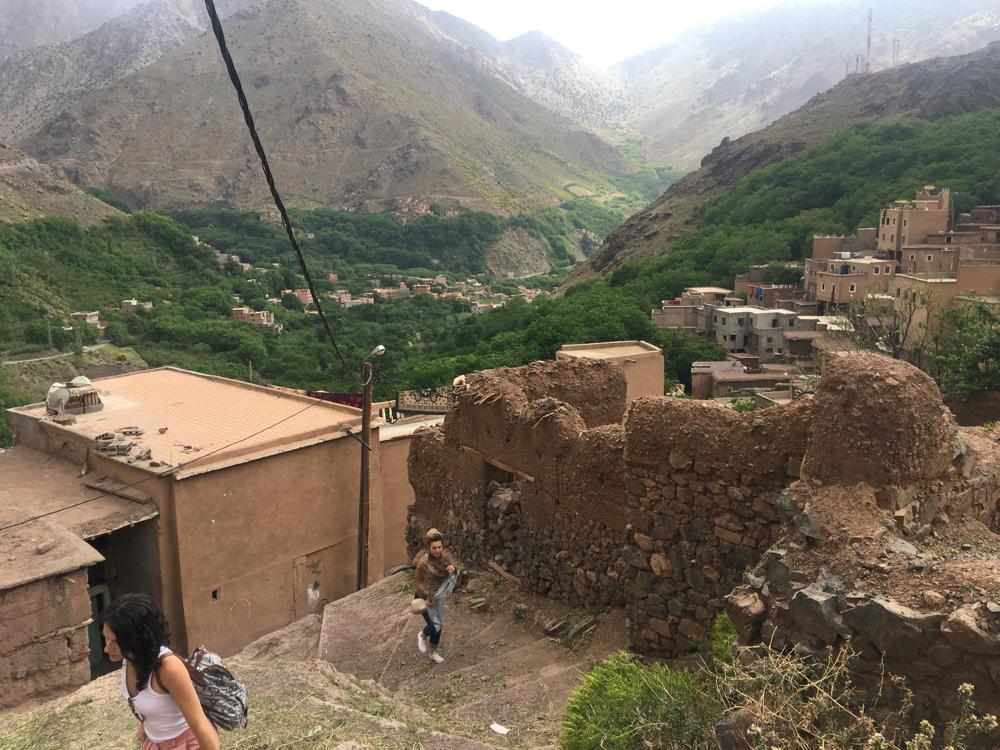 góry Atlas Maroko