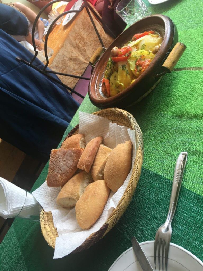 tadżin danie marokańskie