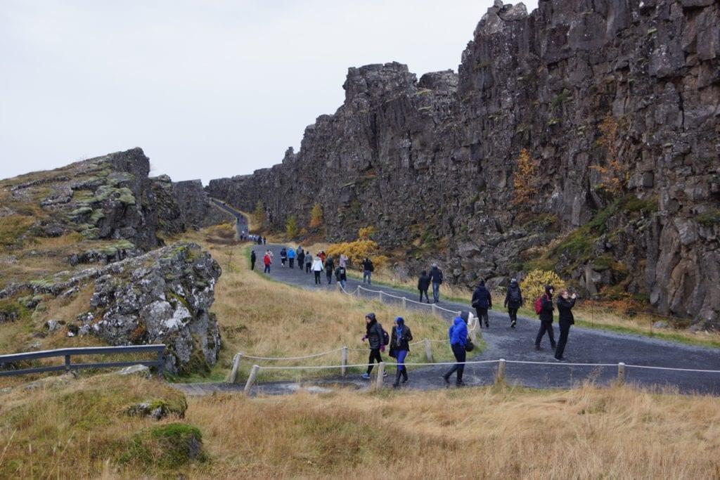 Thingvellir Islandia