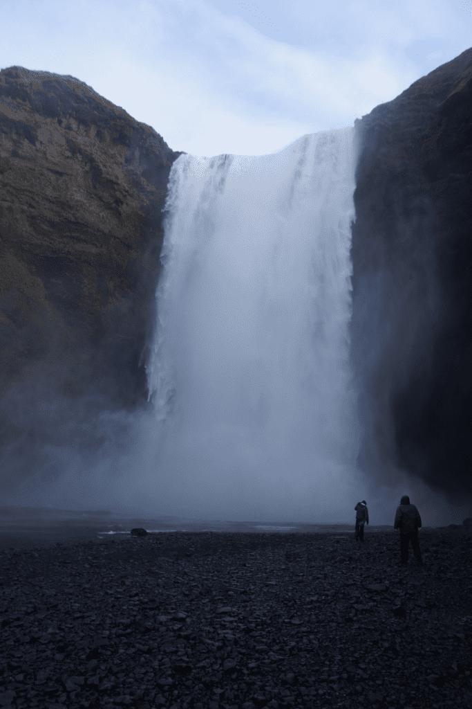 wodospad Skógafoss Islandia