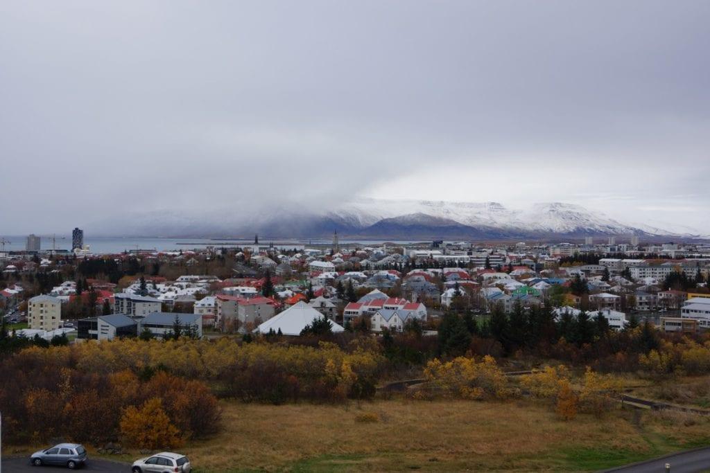 panorama Reykjaviku