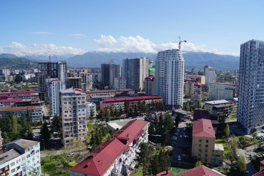 Batumi widok na miasto