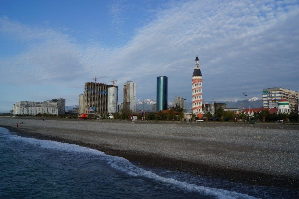 Batumi plaża