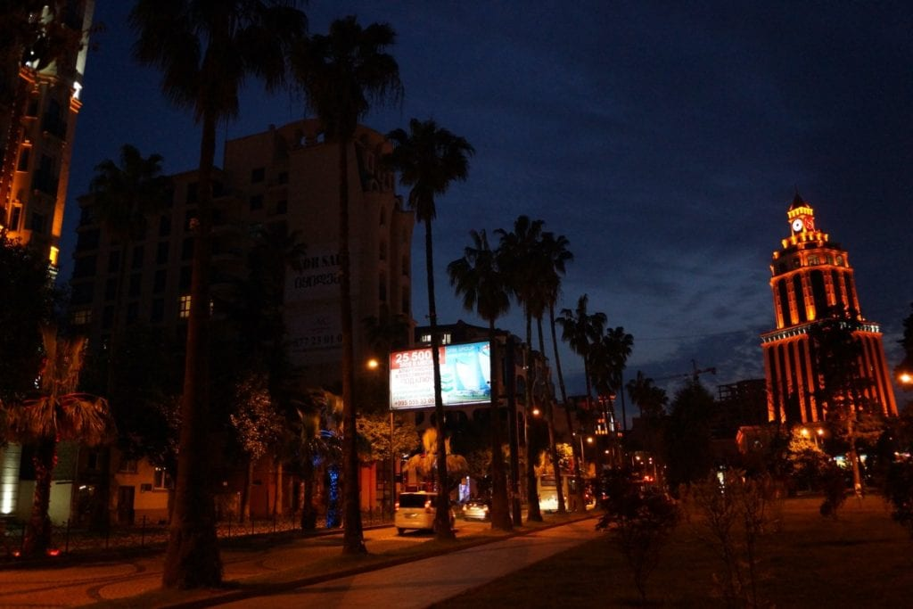 Batumi nocą
