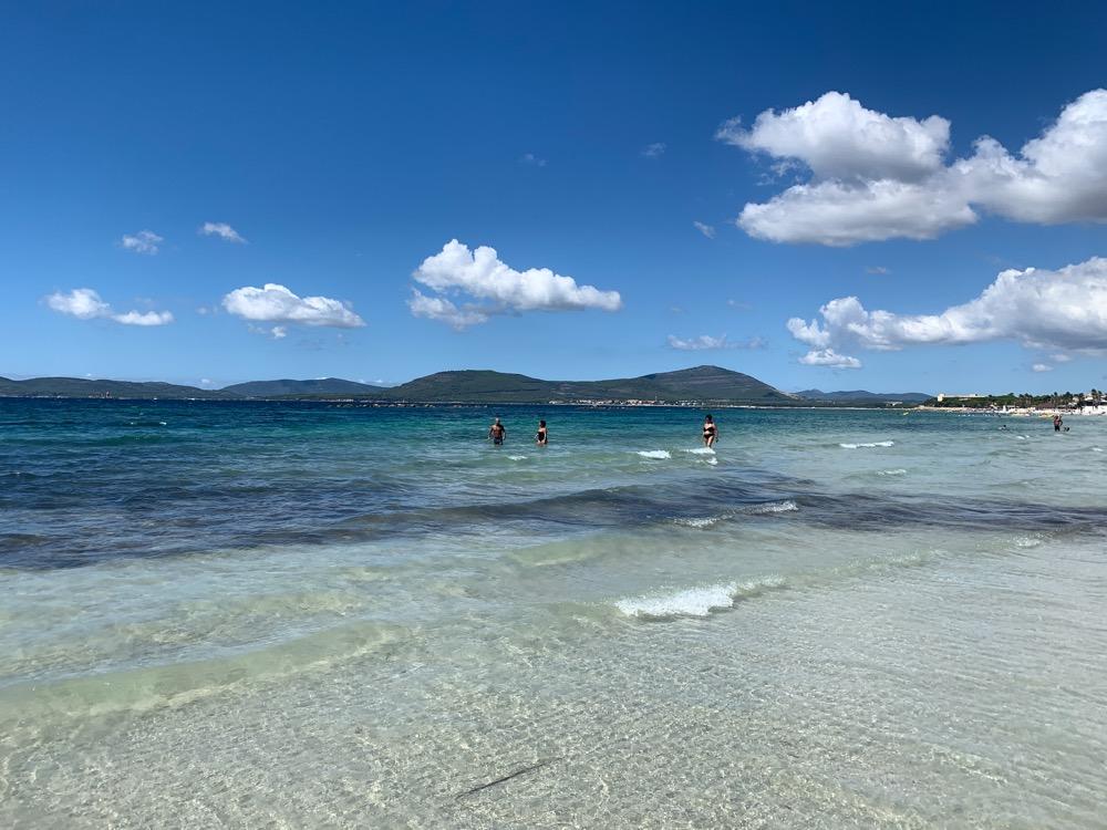 plaża w alghero