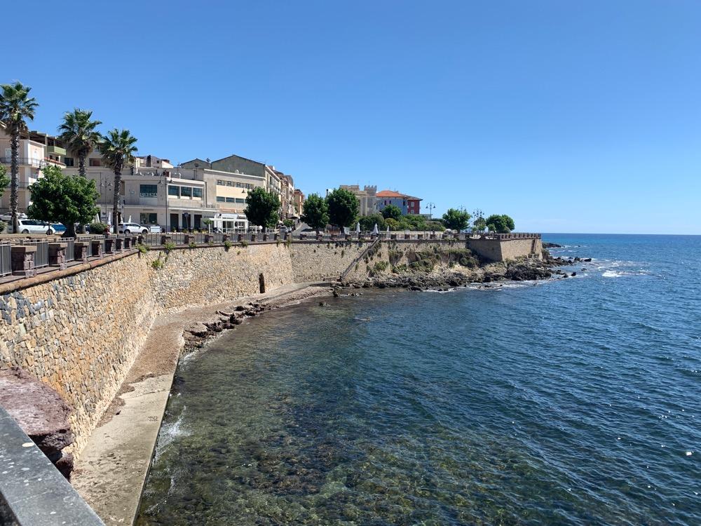 wybrzeże alghero
