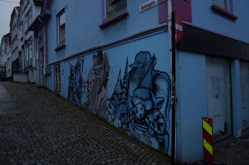 Street art w Stavanger