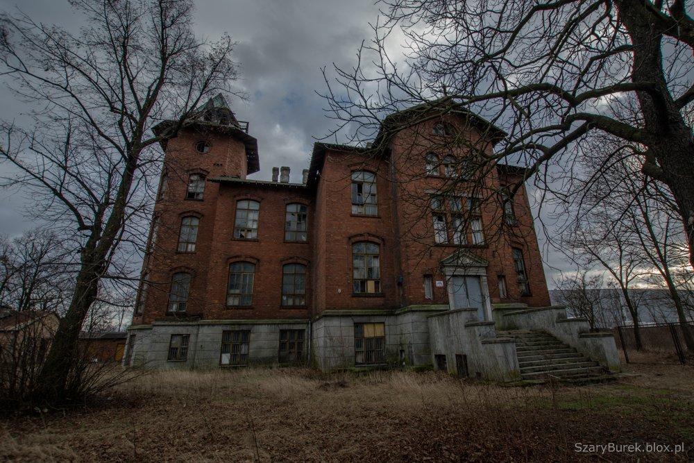 Opuszczony pałac w Pruszkowie