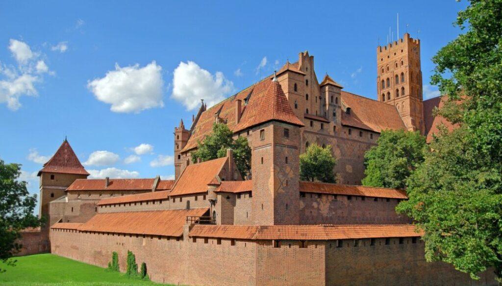 zamek krzyzacki w Malborku