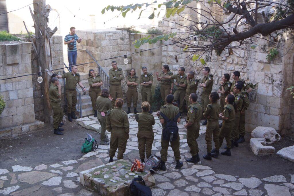 jerozolima żołnierze