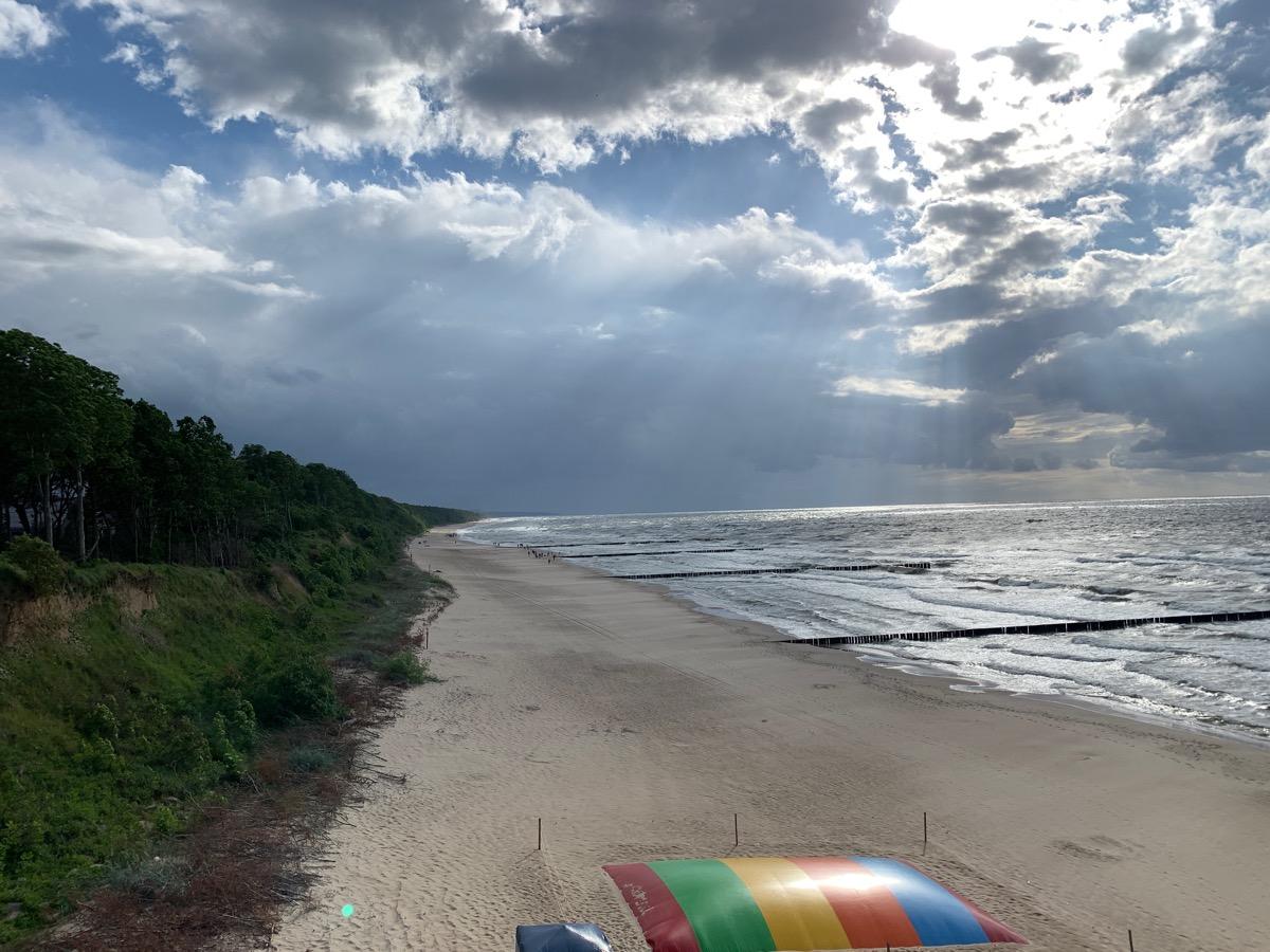 Dziwnów plaża