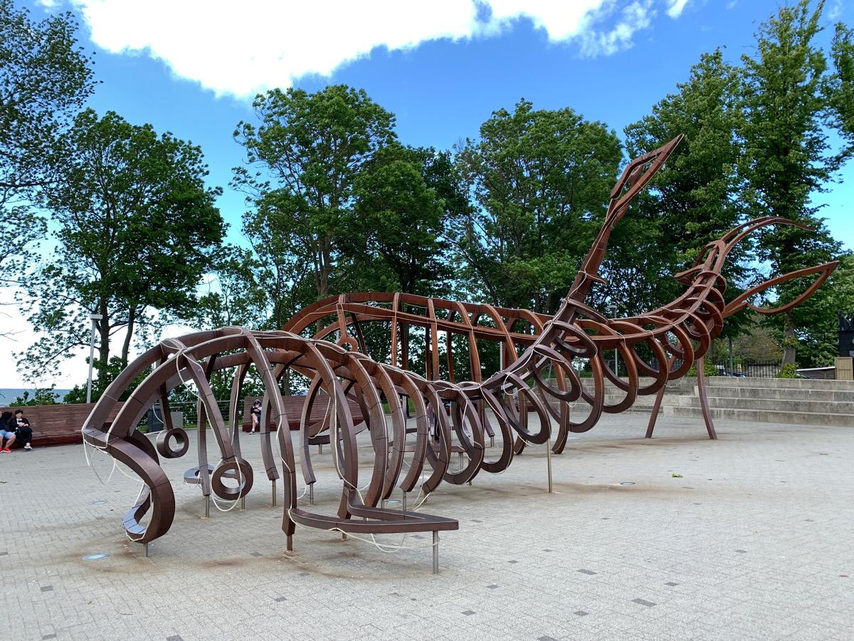 Plac Wielorybów w Rewalu