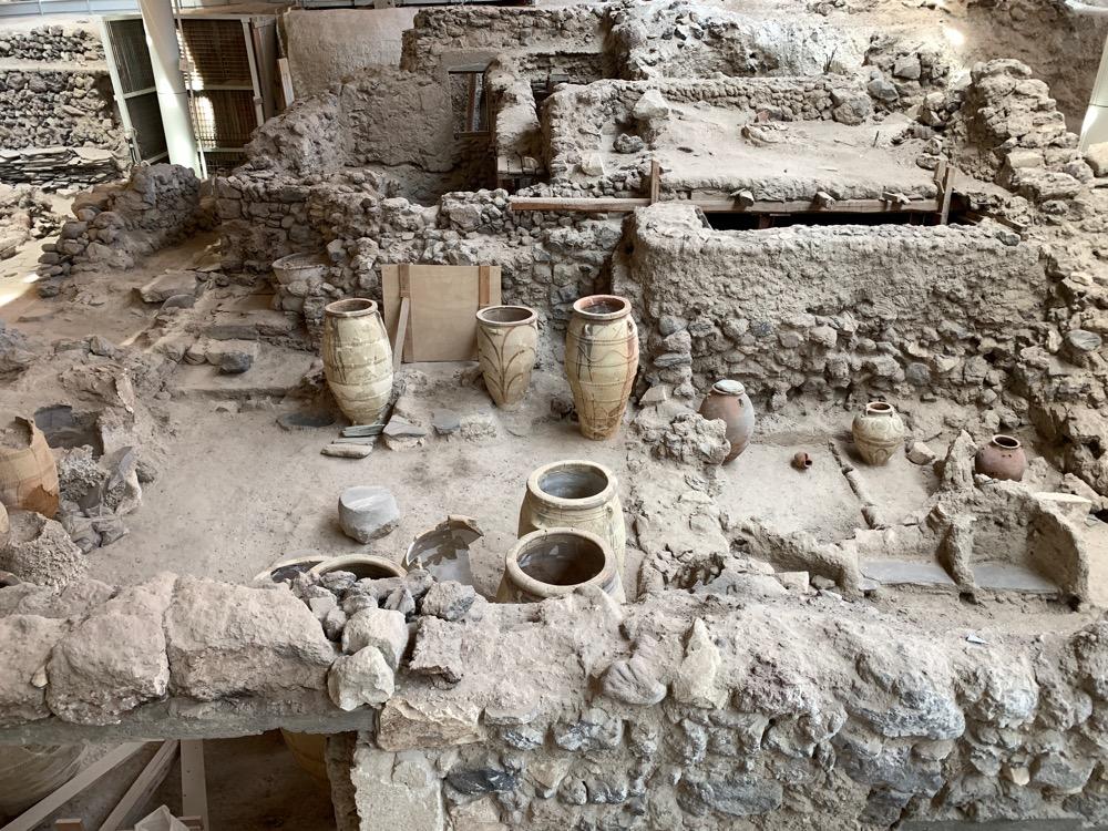 Wykopaliska w Akrotiri