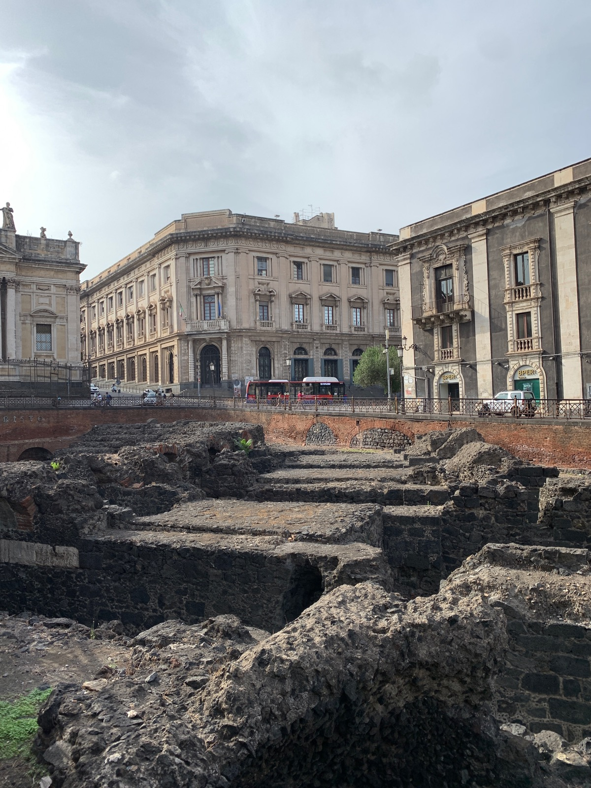 rzymski amfiteatr w katanii